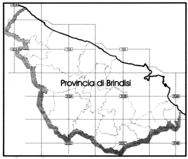 Cartina Igm Puglia.Sinossi Illustrativa